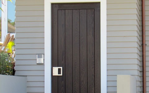 Customised Wooden Exterior Doors Auckland